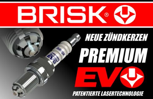 4 St/ück BRISK Premium EVO DR15SXC 1898 Z/ündkerzen